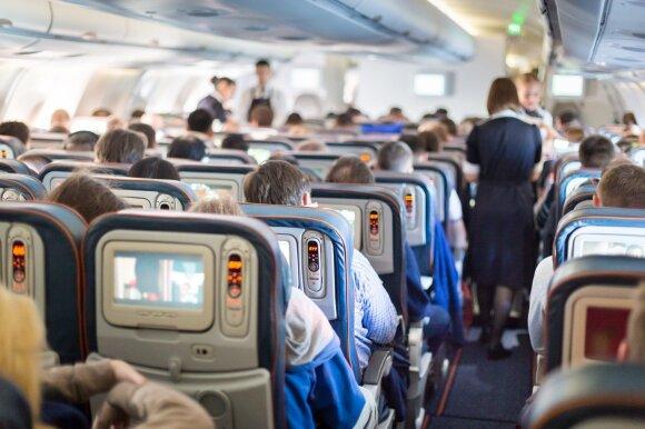 Oro linijų bendrovės linkusios tai nutylėti: ką turėtų žinoti kiekvienas keleivis?