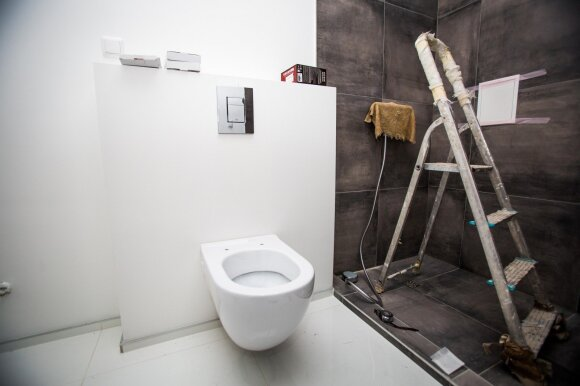 Vilniečiui vonios kambario įrengimas virto tikru iššūkiu: puoliau į neviltį