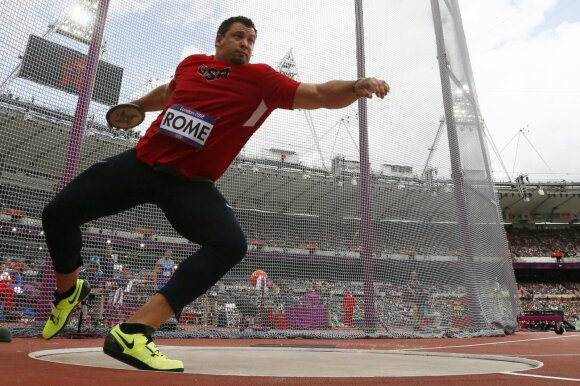 Jarredas Rome'as Londono olimpinėse žaidynėse
