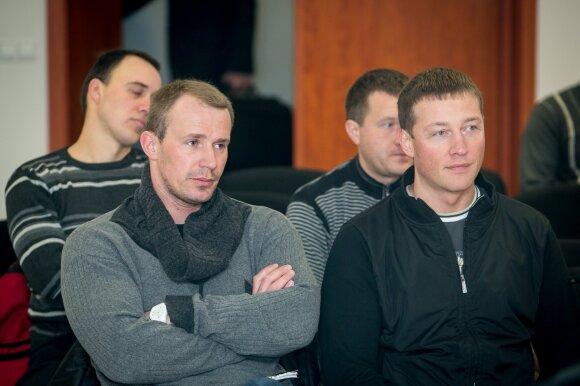Maksimas Chaninas (kairėje) ir Markas Borisniovas