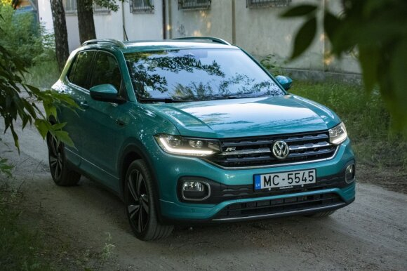 """Volkswagen T-Cross"" / Eglės Girdenytės nuotr."