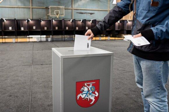 Balsavimas Seimo rinkimuose