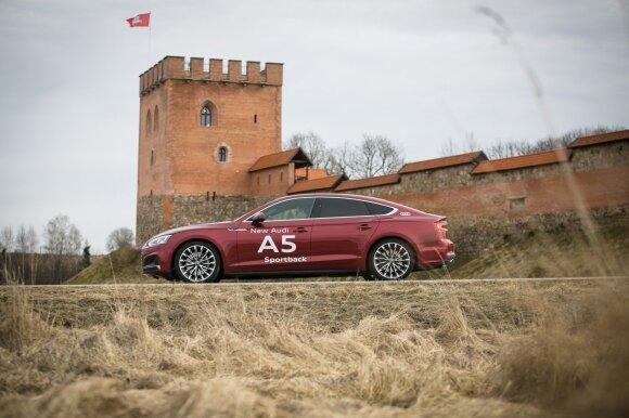 """Audi A5 Sportback"" tapo sportiškesnis"