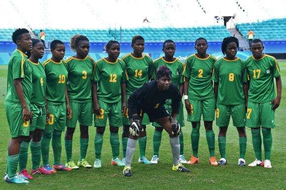 Zimbabvės olimpinė moterų futbolo rinktinė