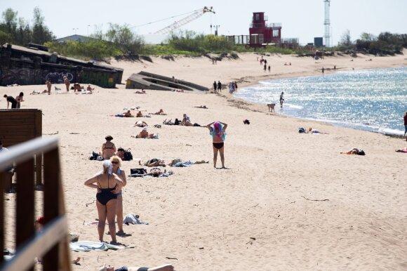 Paplūdimys (V. Jurevičienės nuotr.)