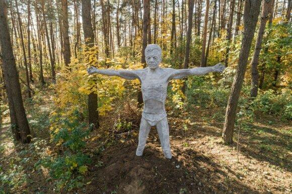 Mykolo Saukos skulptūros Viršuliškėse