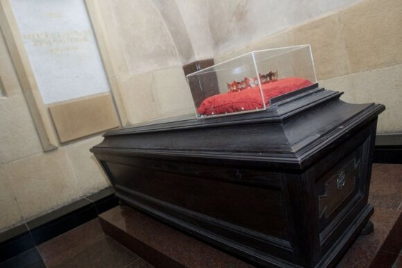 Barboros radvilaitės kapas