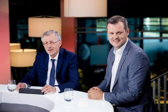 Gediminas Kirkilas, Gintautas Paluckas