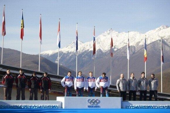 Kaimynų triumfas: Latvijai – pirmas istorijoje žiemos olimpinių žaidynių auksas