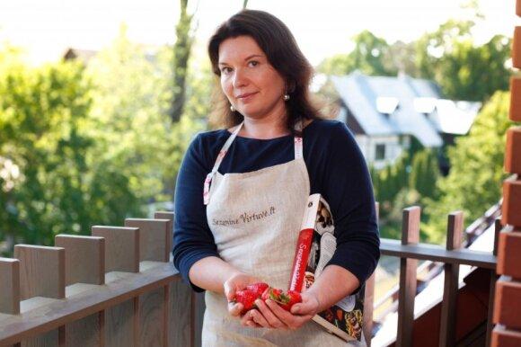 Kulinarinės knygos autorė R. Ničajienė – apie tai, kaip aistra gaminti maistą virto pagrindine veikla