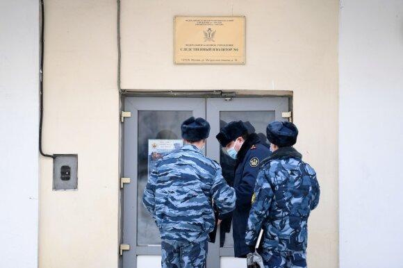 Izoliatorius, kur laikomas Aleksejus Navalnas