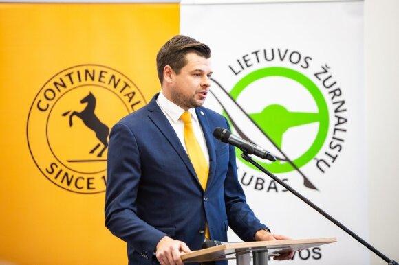 """Paulius Macevičius, """"Continental"""" pardavimų vadybininkas Baltijos šalyse"""