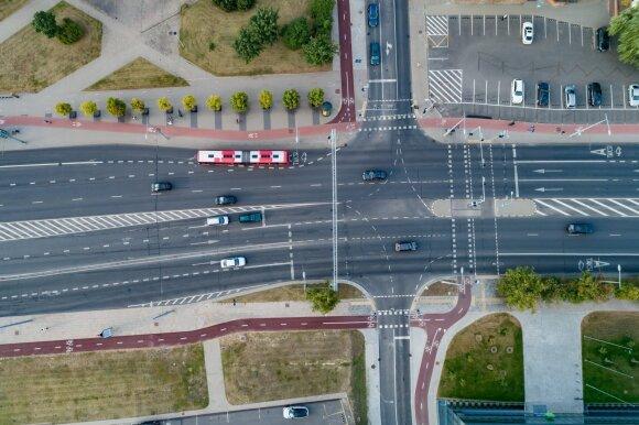 Nuo rugsėjo Vilniaus laukia pokyčiai: sankryžose – nauja eismo tvarka, senamiestyje – kameros