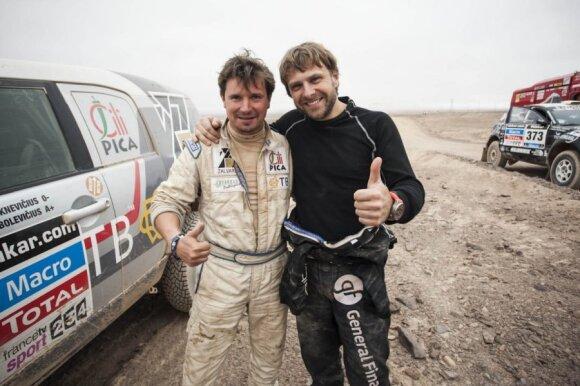 Antanas Juknevičius ir Benediktas Vanagas (Gedmanto Kropio nuotr.)