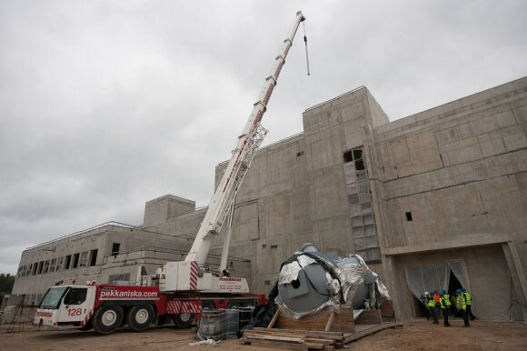 naujas Ignalinos AE kietųjų radioaktyviųjų atliekų tvarkymo ir saugojimo kompleksas B3,4