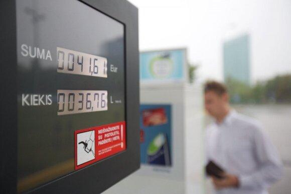 Kylančios degalų kainos keičia rinką: sudie, visureigi