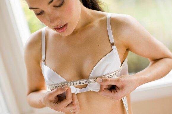 Ar sportas gali sumažinti arba padidinti moterų krūtis? Šį klausimą supa keli mitai