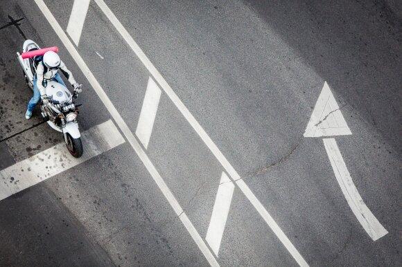 Motociklininkas – apie bendraminčių klaidas: į kai kuriuos pažiūrėjus, šiurpsta oda