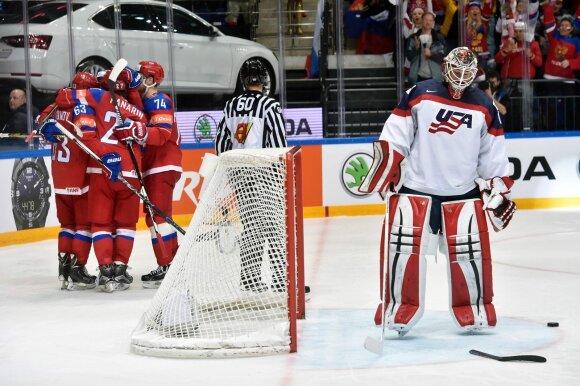 Rusijos ledo ritulininkams – pasaulio čempionato bronza