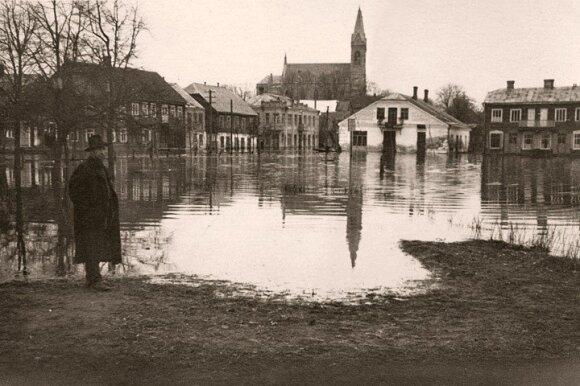Potvynis 1958 m.
