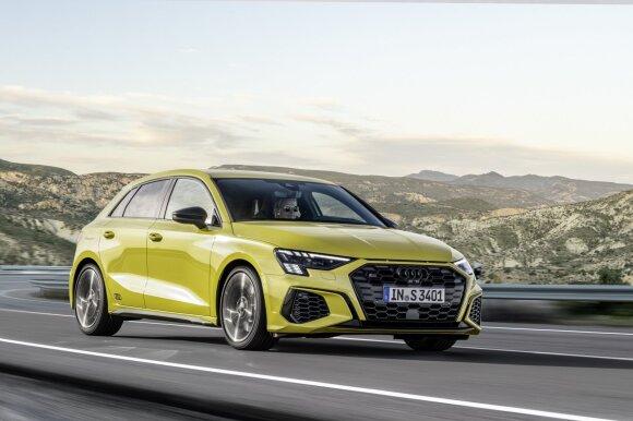 """Audi S3 Sportback"" ir ""S3 Limousine"""