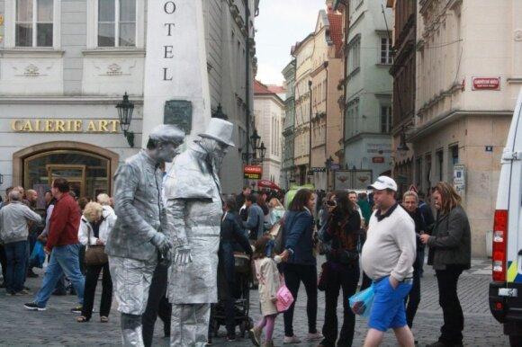 Turistų nukankinta Praha