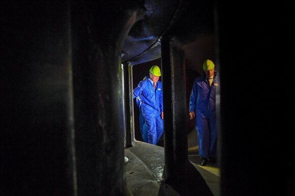 Kruonio hidroakumuliacinėje elektrinėje (HAE) lankėsi Gitanas Nausėda
