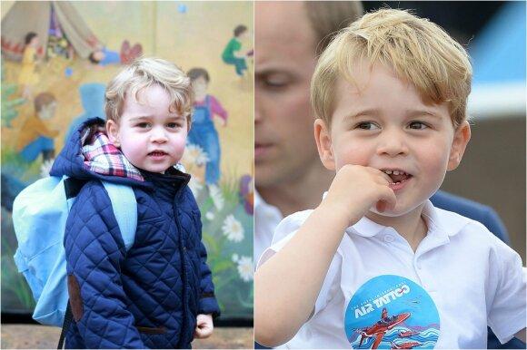 Paaiškėjo paslaptis, ko Kalėdų senelio paprašė mažasis princas George