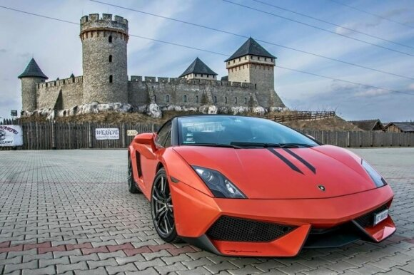 Superautomobilis Lamborghini Gallardo