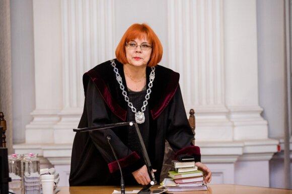 Teisėja Virginija Pakalnytė-Tamošiūnaitė
