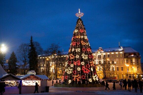 Kalėdų eglutė Vilniuje 2013 m.