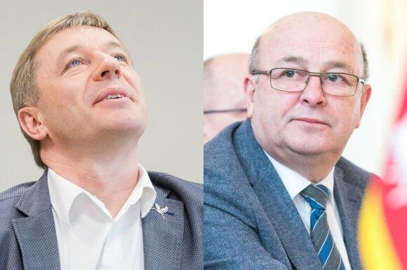 Ramūnas Karbauskis ir Visvaldas Matijošaitis