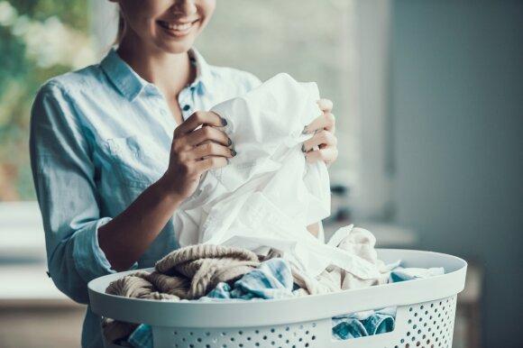 Skalbiniai, skalbimas