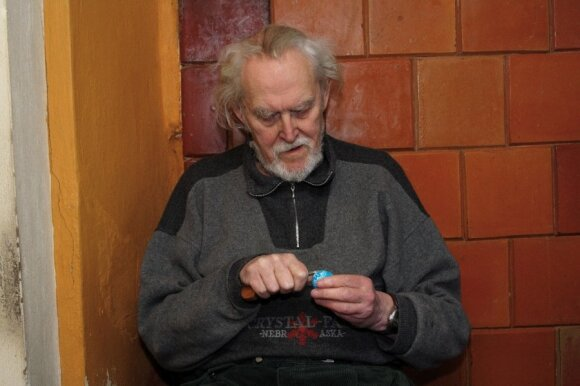 Poetas Marcelijus Martinaitis