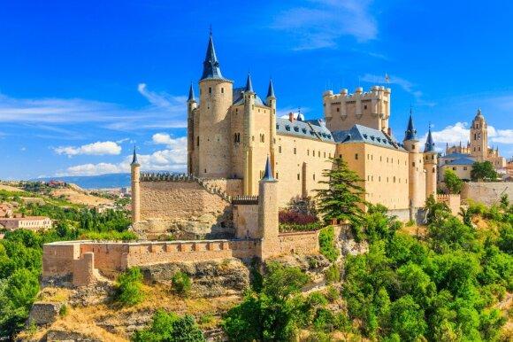 Segovijos tvirtovė, Segovija, Ispanija