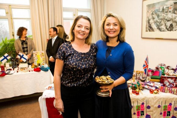Sarah Hunt and Beata Nicholson