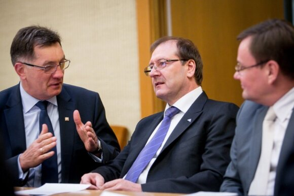 Algirdas Butkevičius, Viktoras Uspaskichas ir Vydas Gedvilas