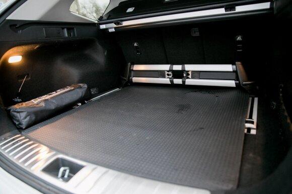 """""""KIA Optima SW"""" bagažinė su slankiomis atramomis"""