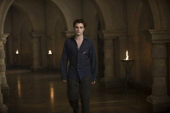"""Robertas Pattinsonas, kadras iš filmo """"Jaunatis"""""""