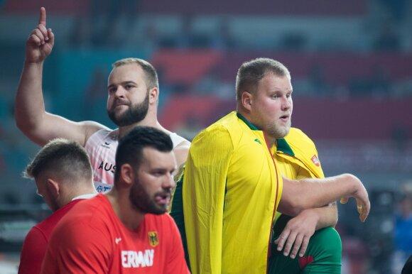 Pasaulio lengvosios atletikos čempionatas. Disko metimo finalas.