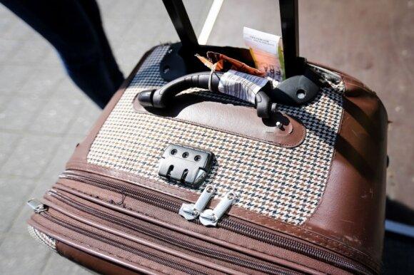 Vilijos Matačiūnaitės lagaminas