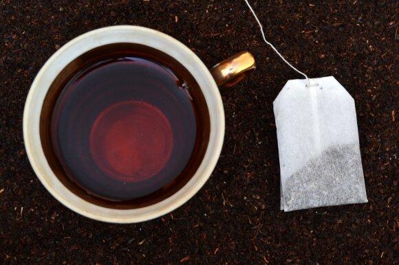 Stipri juodoji arbata