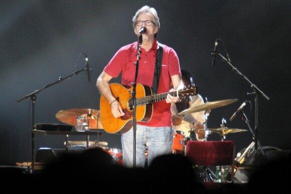 Erico Claptono koncertas