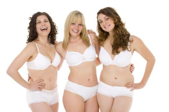 Apvalių formų moterys raginamos išsirengti
