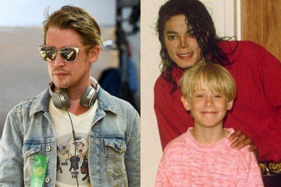 Macaulay Culkinas ir Michael Jacksonas