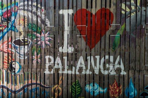 """Kultūrinė erdvė """"I love Palanga"""""""