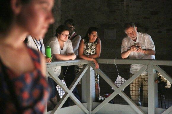 Lietuvos paviljoną Venecijoje aplankė režisierius Francis Ford Coppola