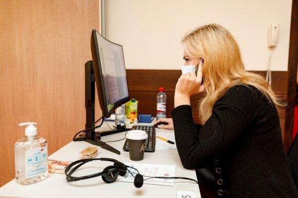 Į pagalbą NVSC skuba verslas – įsteigė papildomą Covid-19 skambučių centrą