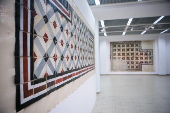 """Eglės Ridikaitės tapybos paroda """"Atėjai, pamatei, išėjai: kultūringos grindys"""""""