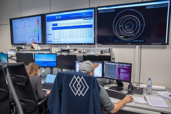 Europos kosmoso agentūros darbuotojai